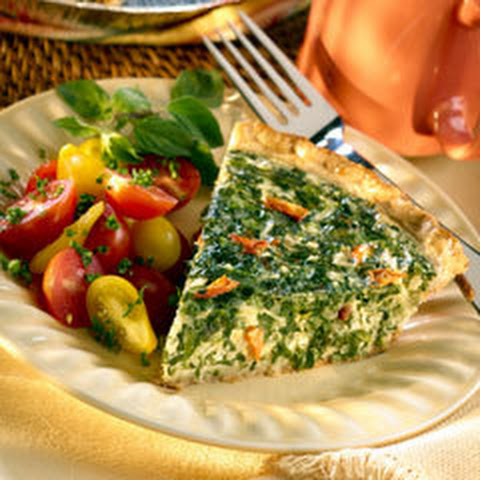 Spring Vegetable Quiche
