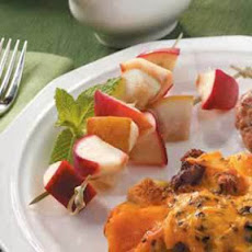 Apple 'n' Pear Kabobs