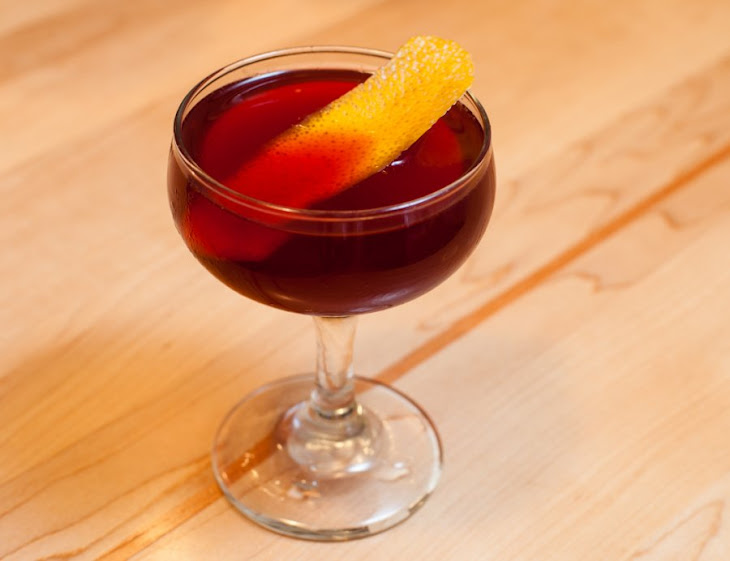 Red Negroni Cocktail Recipe