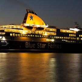 by Evangelia Baliou - Transportation Boats