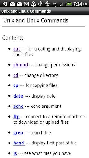 Unix Linux Commands