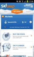 Screenshot of Dolomiti Superski - Skibeep