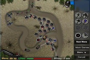 Screenshot of Tower Defense HD