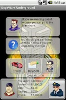 Screenshot of DopeWars Underground Lite