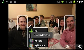 Screenshot of ObscuraCam: The Privacy Camera