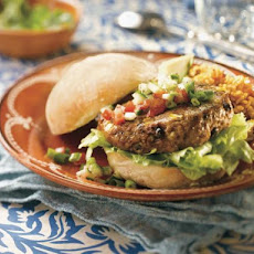 Tex–mex Black Bean Burgers