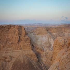 Masada -Israel by Matt Hechter - Landscapes Deserts
