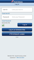 Screenshot of First Citizens Mobile Banking