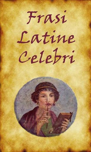 Frasi Latine Celebri Full