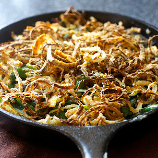 Green Bean Casserole With Mushroom Bechamel & Crispy Onions Recipes ...