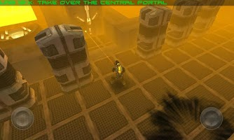 Screenshot of ANGRY BOTS 9MB
