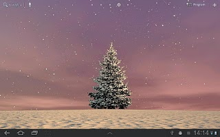 Screenshot of Winter Trees Free