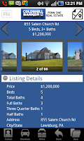 Screenshot of Coldwell Banker Penn One RE