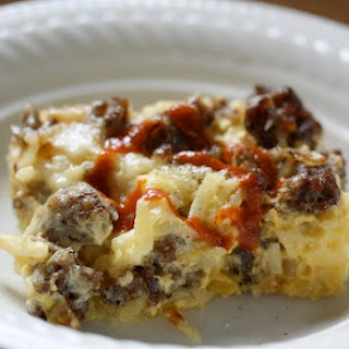 Sausage and Potato Breakfast Casserole