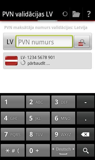 PVN validācijas LV