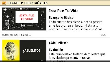 Screenshot of Chick Tracts - Spanish