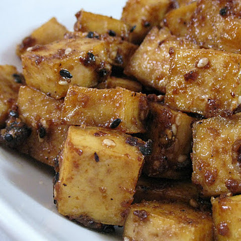 Sesame Maple Ginger Tofu