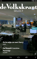 Screenshot of de Volkskrant Select