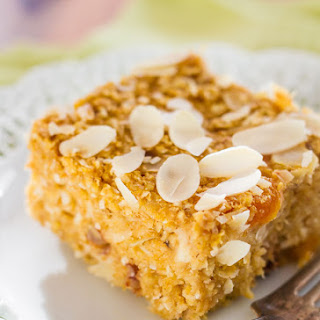 Everything Oatmeal Bake Bars