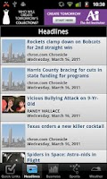 Screenshot of Houston Local News
