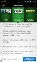 Screenshot of Games News Lite