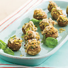 Stuffed Mushrooms With Pecans