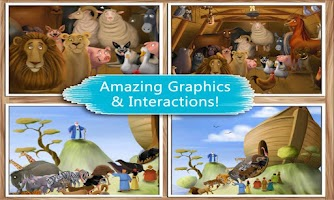 Screenshot of Noah's Ark: Bible Story Book