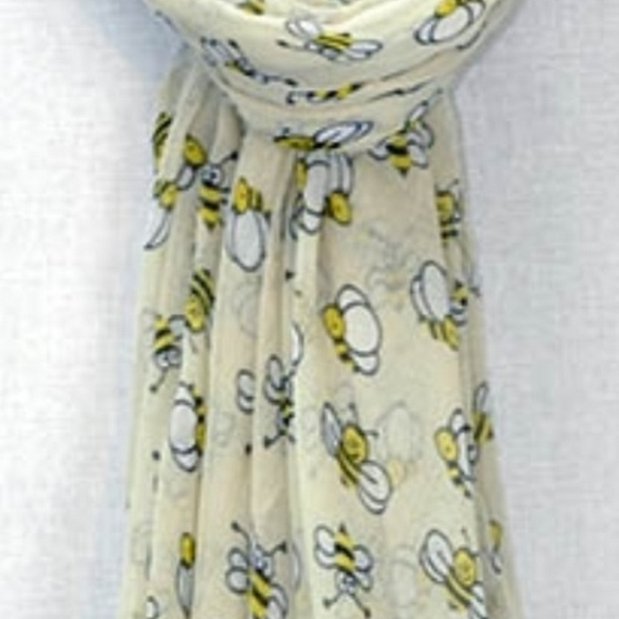Bumble bee scarf