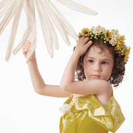 Flower Girl by Astrid Pardew - People Family (  )