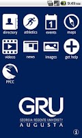 Screenshot of GRU Mobile