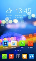 Screenshot of IGlory8 GO Launcher Theme