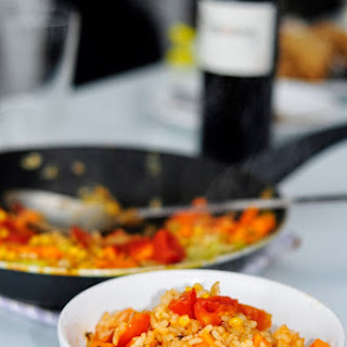 Easy Vegetable Paella