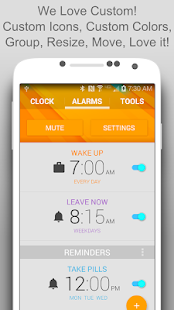 Life Time Alarm Clock Screenshot