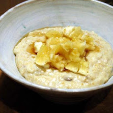 Porridge With Mashed Banana