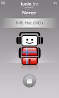 Screenshot of Norge Radio by Tunin.FM