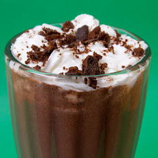Spiked Thin Mint Milkshake