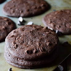 Double Chocolate Chip Coconut Flour Cookies