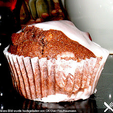 Dinkelmuffins 'Double Choc and Macadamia Nuts'