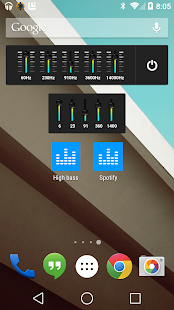 Equalizer – Miniaturansicht des Screenshots
