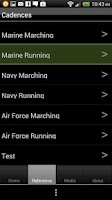 Screenshot of Army Cadances