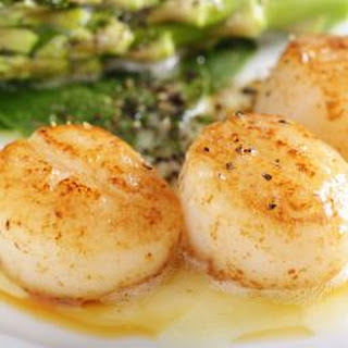 Spicy Seared Scallops