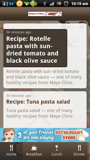 Recipes for Moms