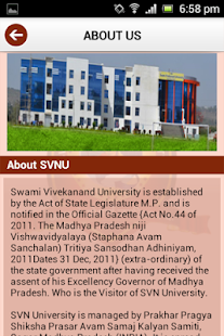SVN University - screenshot