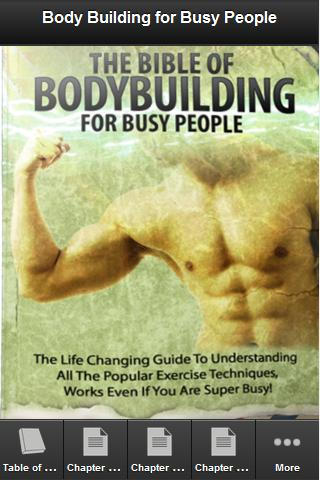 Body Building for Busy People