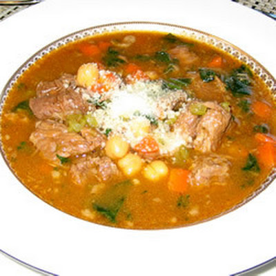 Two Meat Minestrone