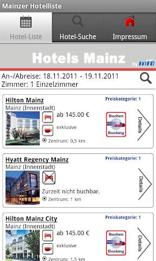 【免費旅遊App】Hotels Mainz-APP點子
