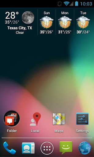 Jelly Bean Apex Nova Theme