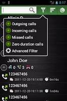 Screenshot of Call Stats