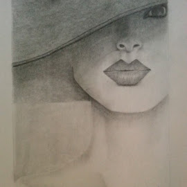 Elegance by Paula Moore - Drawing All Drawing ( pencil, woman, art, lady, portrait )