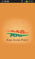 Screenshot of Aam Aadmi Party(AAP)